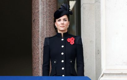 El look de Kate Middleton en el Remembrance Day